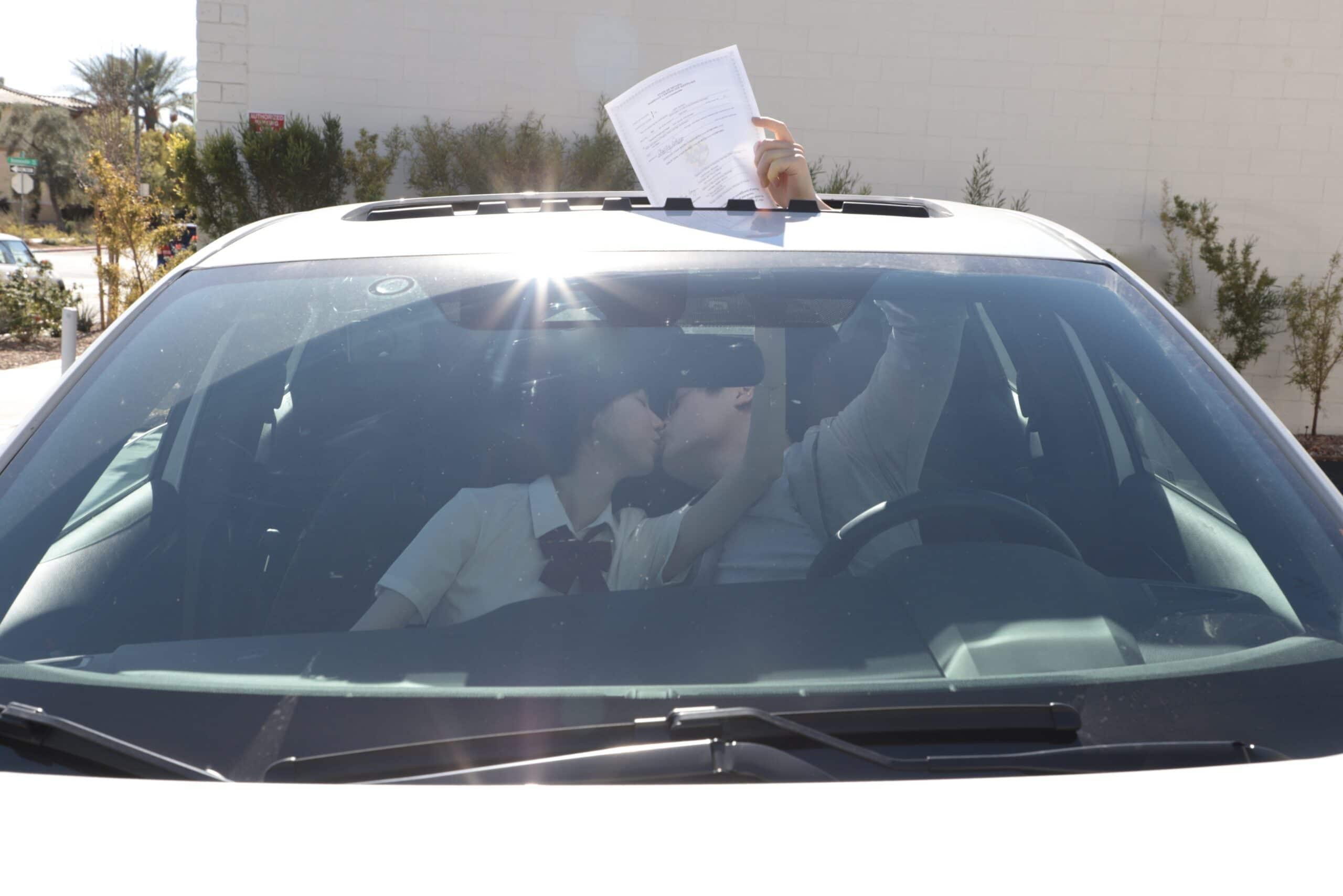 drive up wedding in las vegas