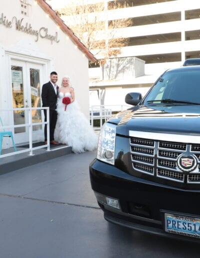 Drive Up Wedding