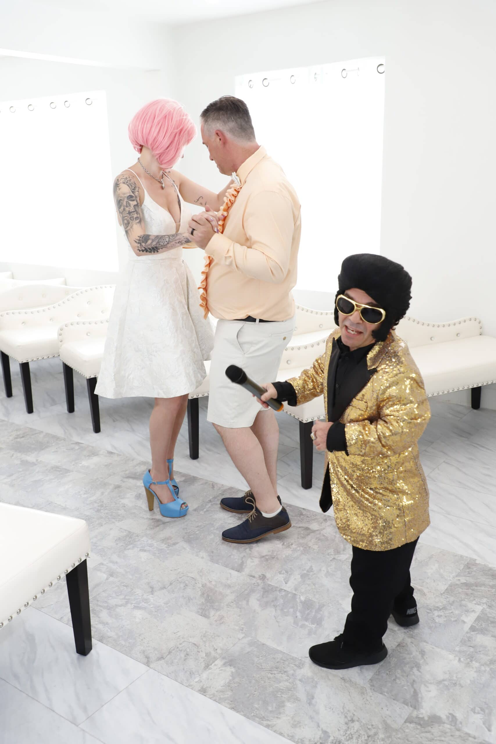 mini elvis wedding las vegas