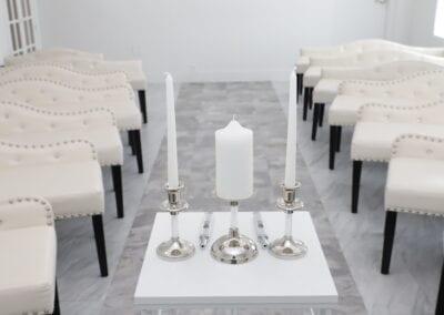 Paradise Wedding Chapel Candle