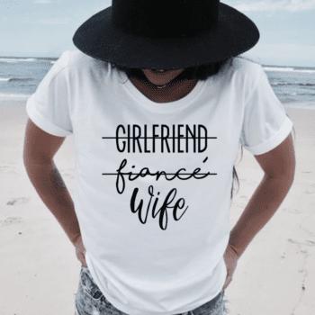 Wife T-Shirt Las vegas wedding chapels