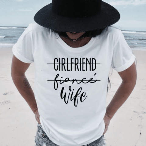 Wife T-Shirt Las vegas wedding chapels