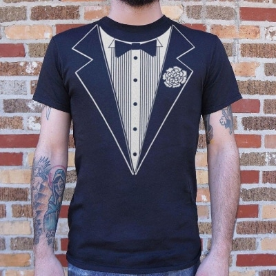 las vegas wedding chapels tuxedo t-shirt