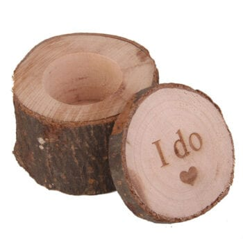 las vegas wedding chapels wood ring holder