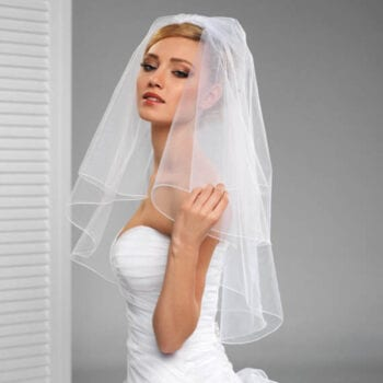 Bridal Veil at Las Vegas Wedding Chapels