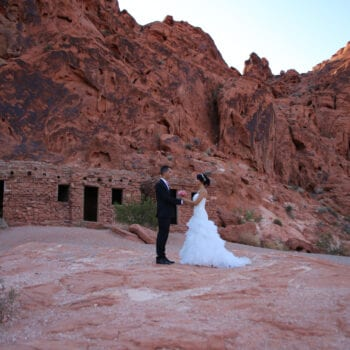 las vegas wedding valley of fire
