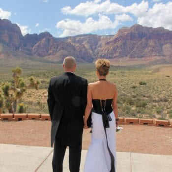 las vegas wedding red rock