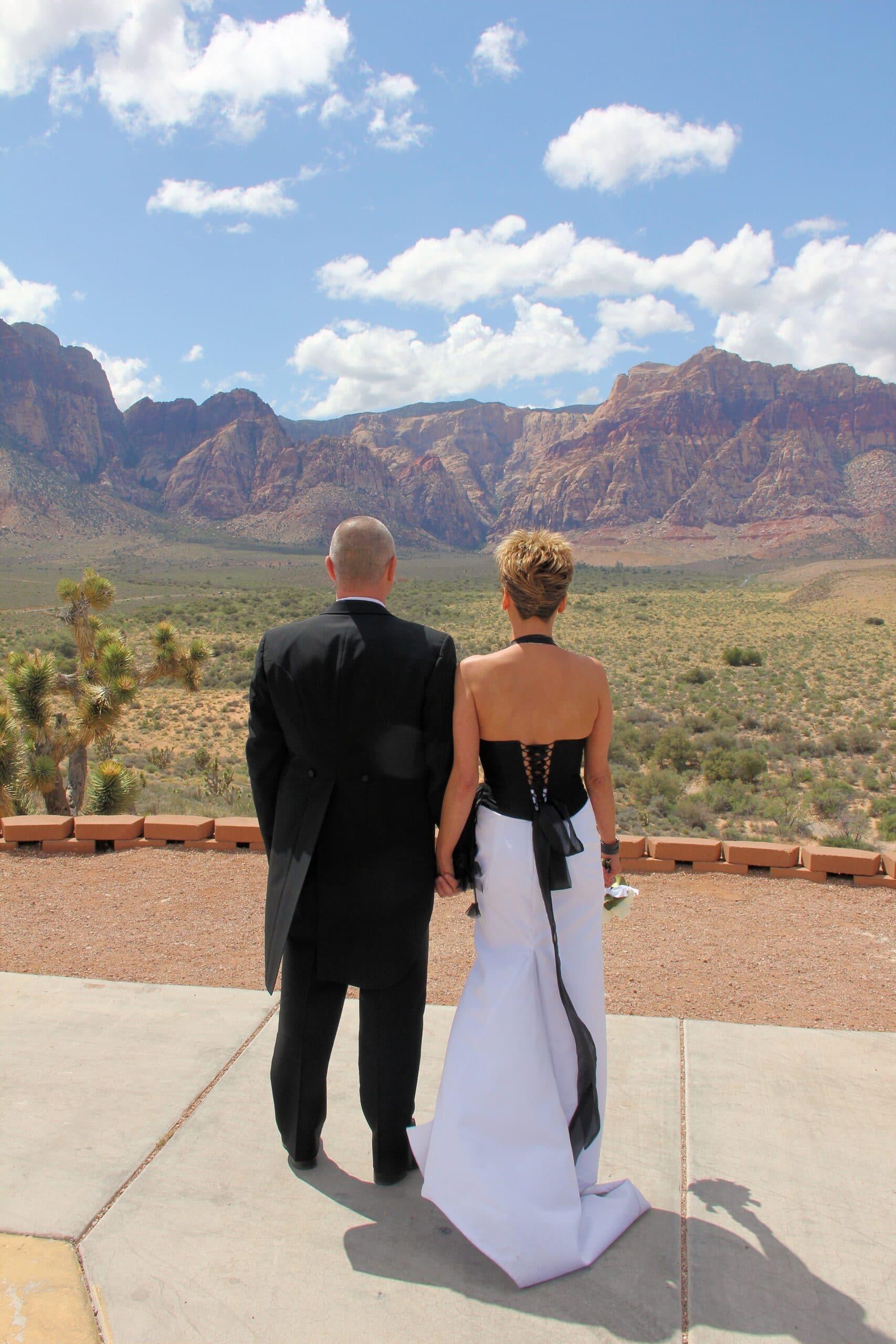 las vegas wedding red rock