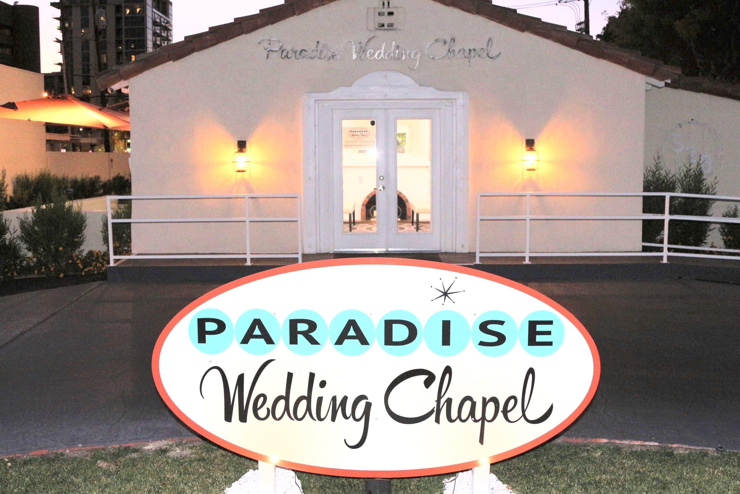 Paradise Wedding Chapel Las Vegas
