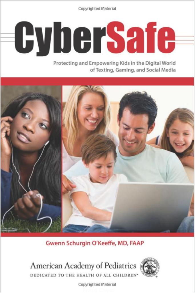 CyberSafe book by Dr. Gwenn O Keeffe