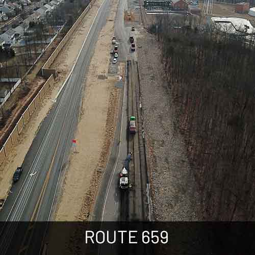 Projects-Route 659