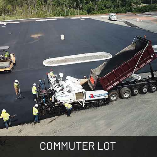 Projects-commuter lot
