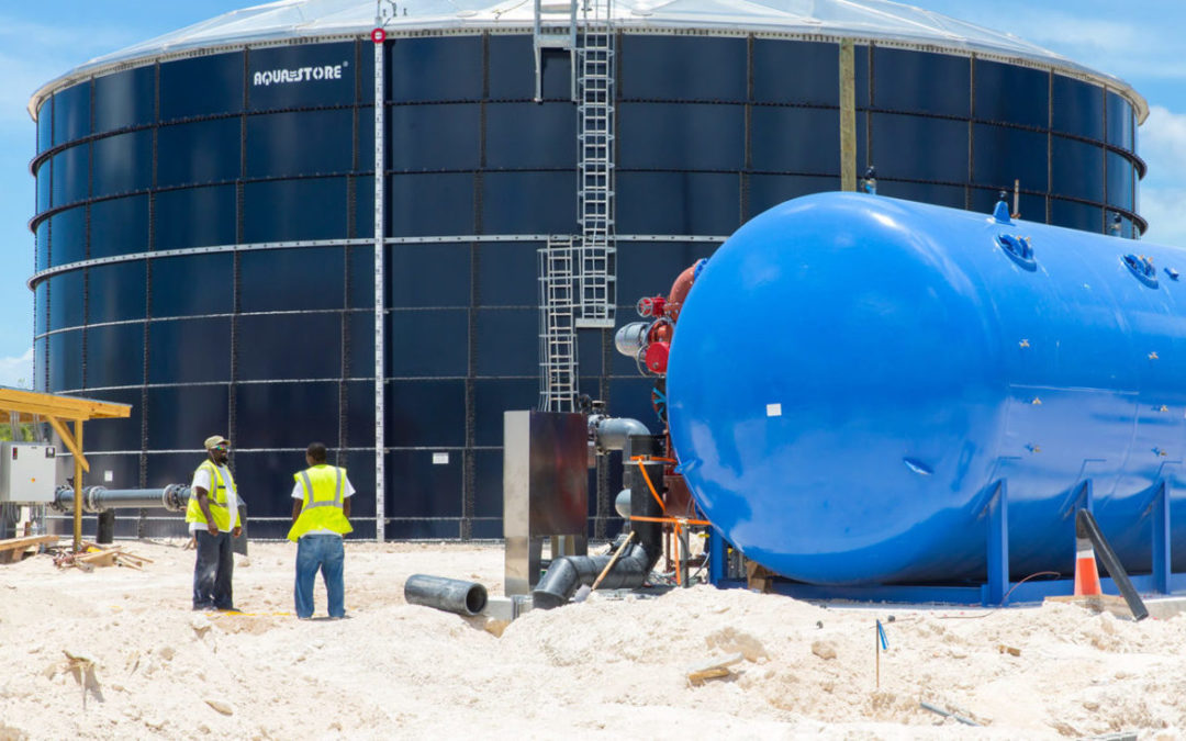Construction begun on 1.3 million gallon per day reverse osmosis desalination facility