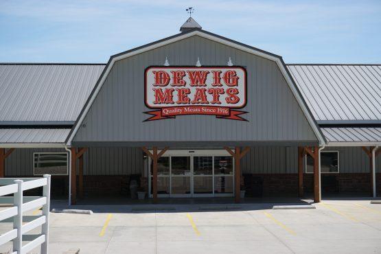Dewig Meats building