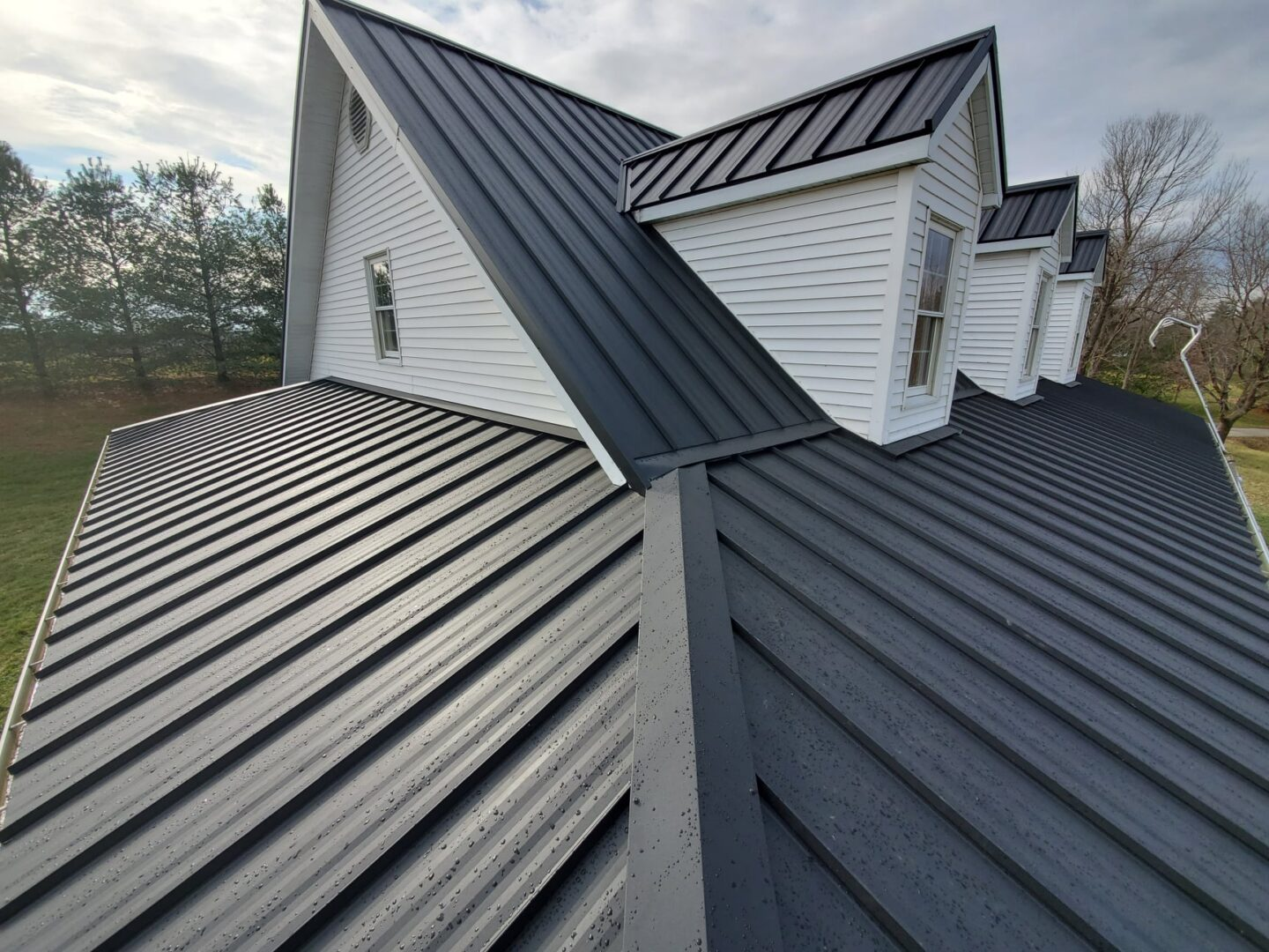 A building's roof