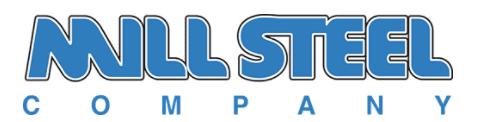 mill steel logo