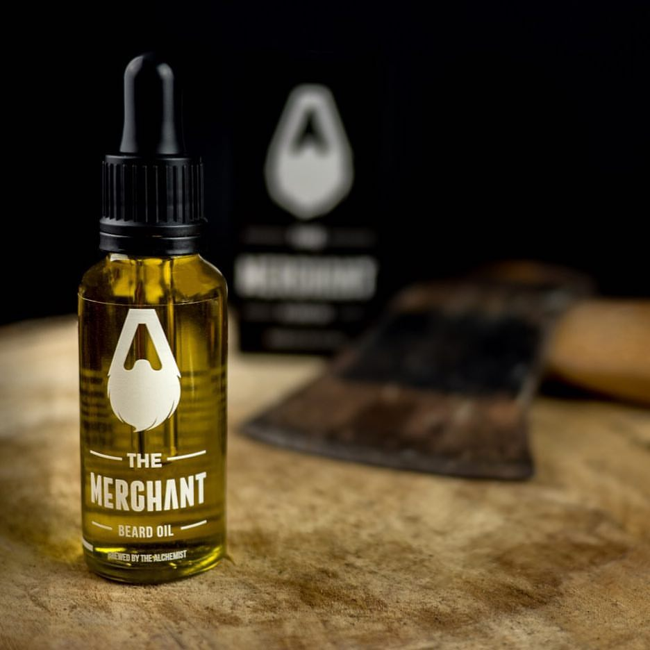 the merchant beard oil