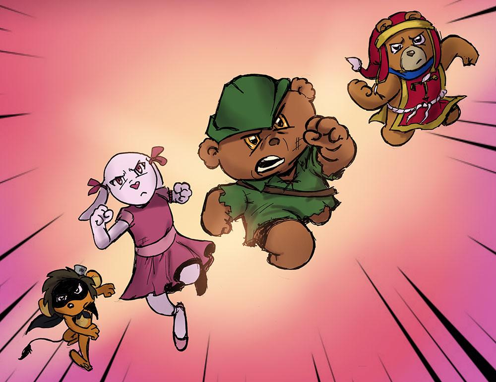 The Cuddly Toy Heroes Of Awakenings