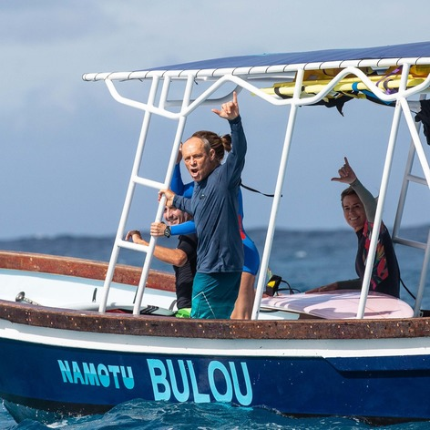 Kalama Kamp boat ride