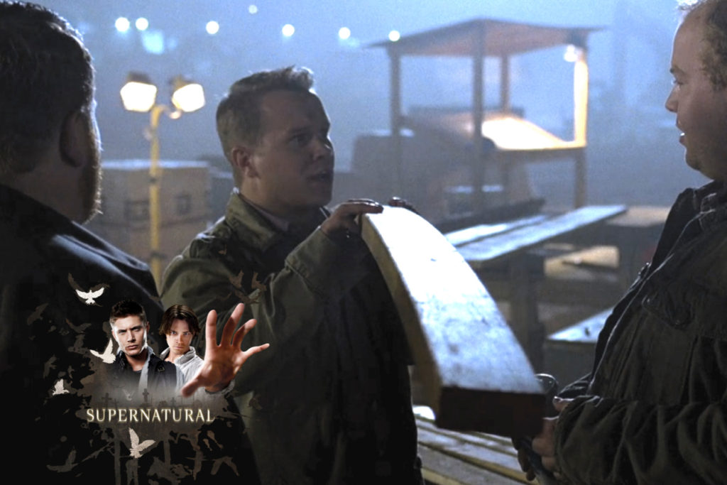 Michael Coleman acting supernatural