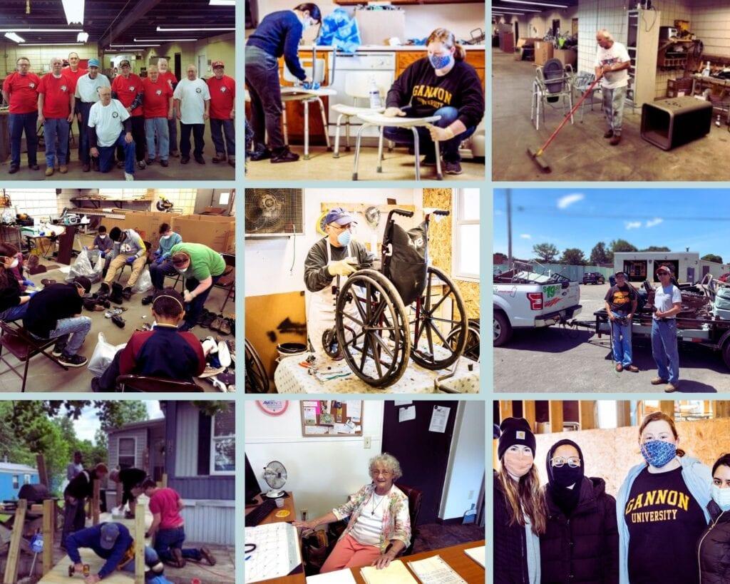 Volunteer Photo Collage