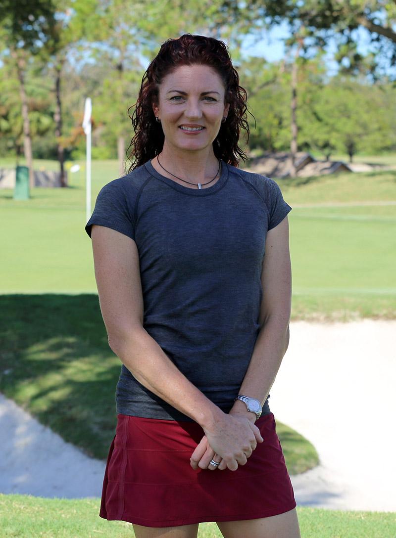 Karen Harrison - Co-founder of Golf BioDynamics