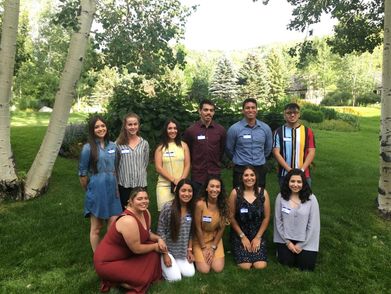 Guardian Scholars team in park