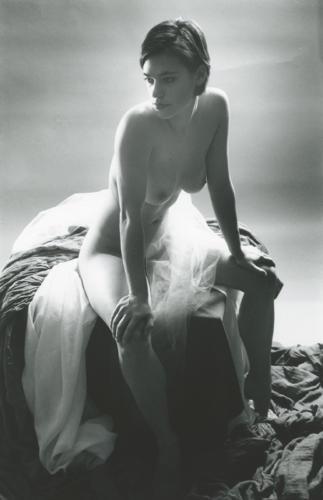 Aphrodite Study #3, black and white, silver gelatin print