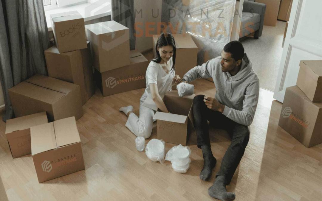 importancia de empacar en una mudanza