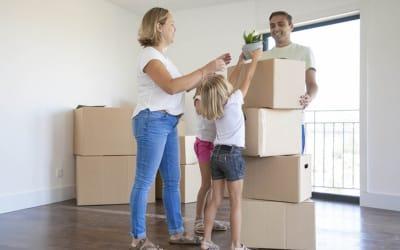 Consejos para tener una mudanza o trasteo exitoso con niños