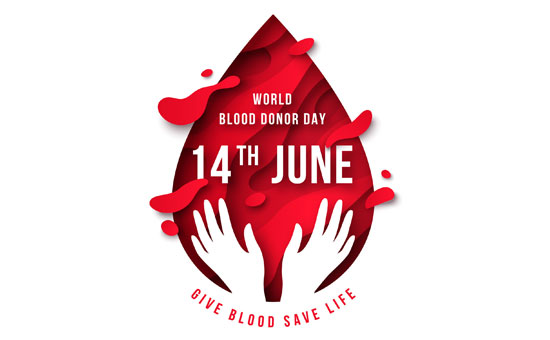 """June 14th is """"World Blood Donor Day"""""""