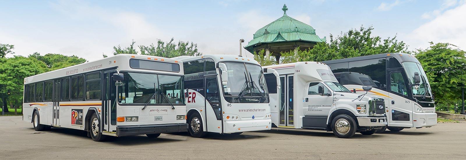 Chicago Charter Bus Rentals