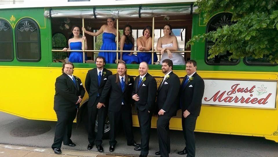 Wedding Trolley Rentals Chicago