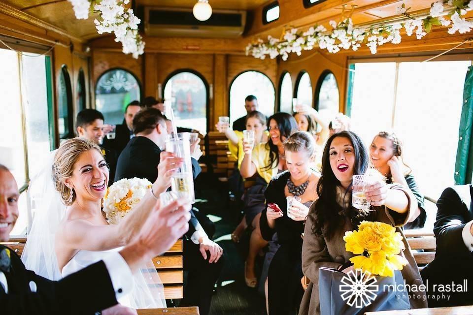 Wedding Trolleys Chicago
