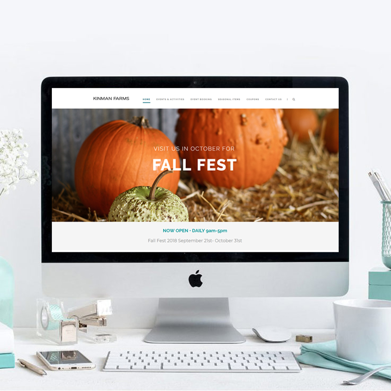 Kinman Farms Website