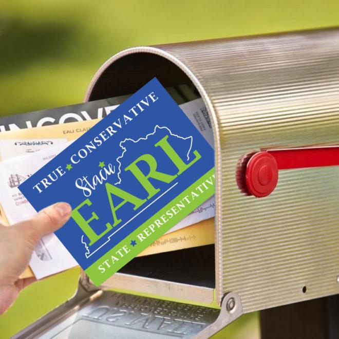 Vote Stacie Earl Postcard