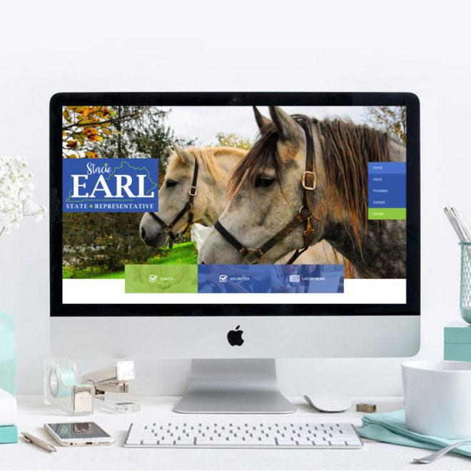 Vote Stacie Earl Webiste