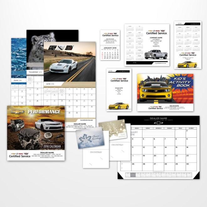 GM Calendar 2016 Calendars