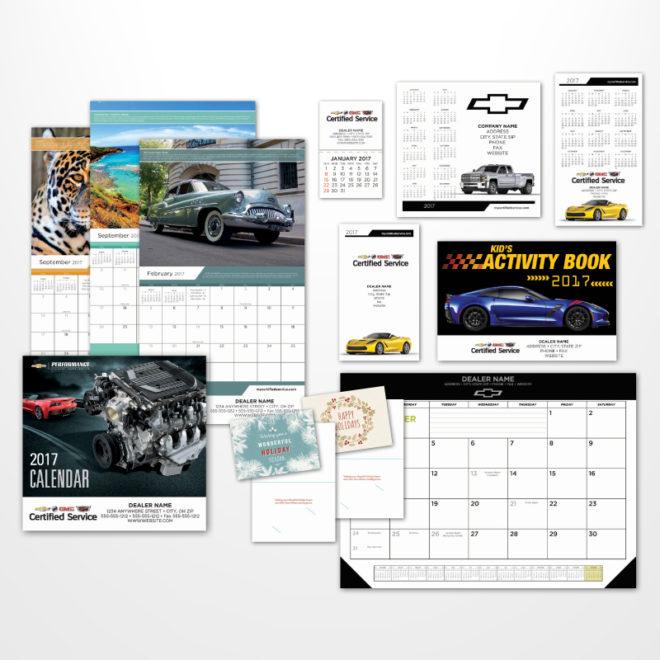 GM Calendar 2017 Calendars