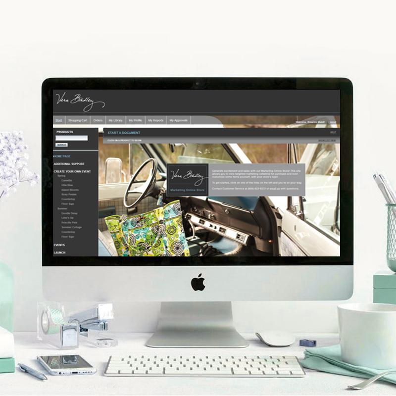 Vera Bradley Marketing Online Store