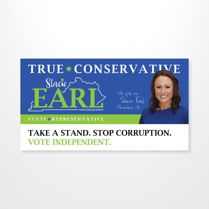Stacie Earl Campaign Mailer Series