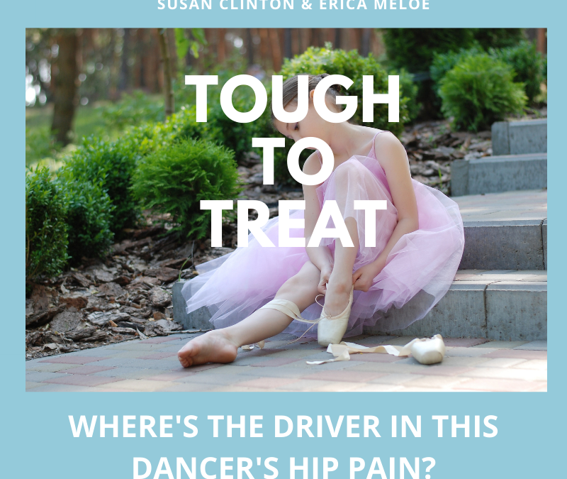 #96: Musculoskeletal Driver of Hip Pain in a Young Dancer