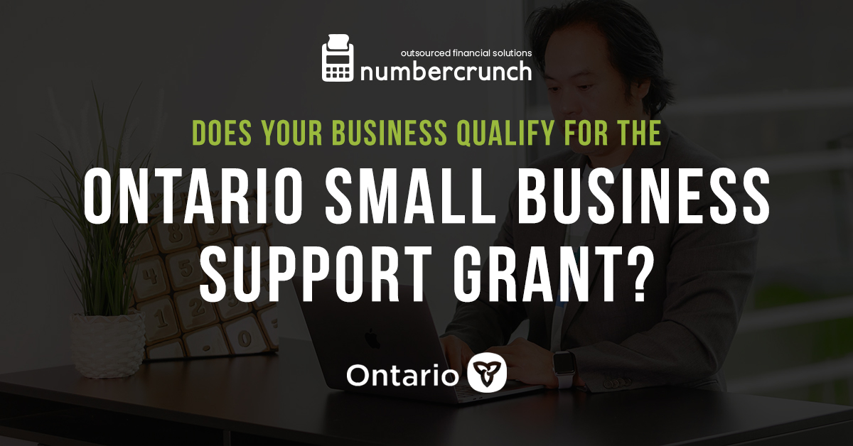Does Your Business Qualify for the Ontario Small Business Support Grant?