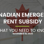 Canadian Emergency Rent Subsidy: What You Need to Know