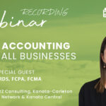 Cloud Accounting For Small Businesses Webinar Now Available