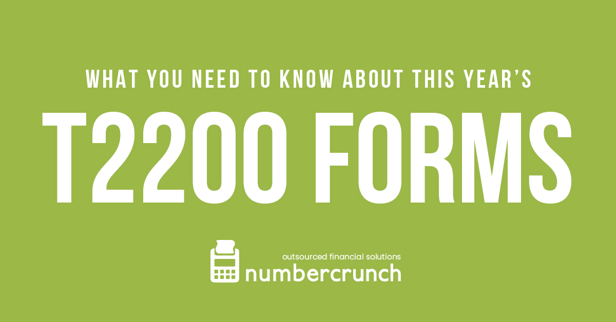 What You Need To Know About This Year's T2200 Forms