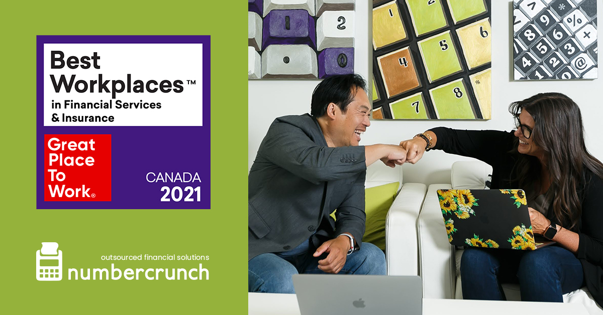numbercrunch named to the 2021 List of Best Workplaces™