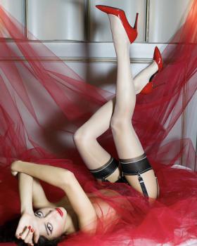 Contrast Stockings