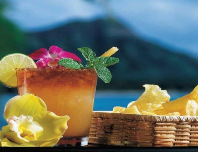Stop In For A Mai Tai at House Without A Key, Oahu