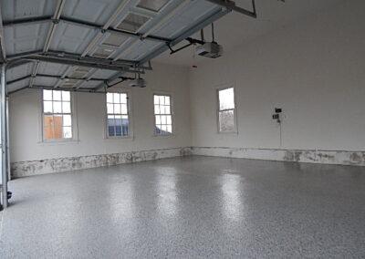 After Image of garage floor